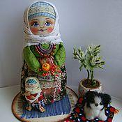 """Куклы и игрушки ручной работы. Ярмарка Мастеров - ручная работа Кукла в русском стиле """"Агафьюшка"""". Handmade."""