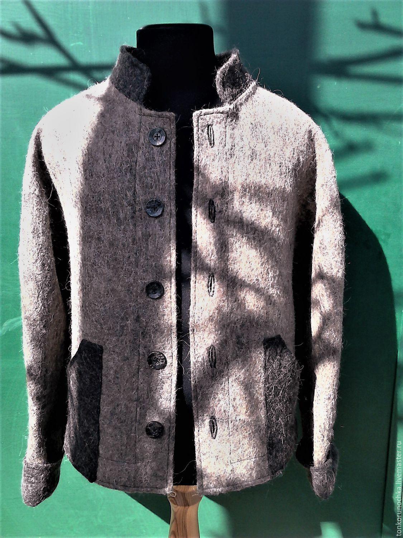 Felted jacket 'Viking', Outerwear Jackets, Yeisk,  Фото №1