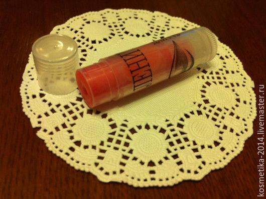 """Бальзам для губ ручной работы. Ярмарка Мастеров - ручная работа. Купить Бальзам для губ """"Фрукты"""". Handmade. Коралловый, помада для губ"""