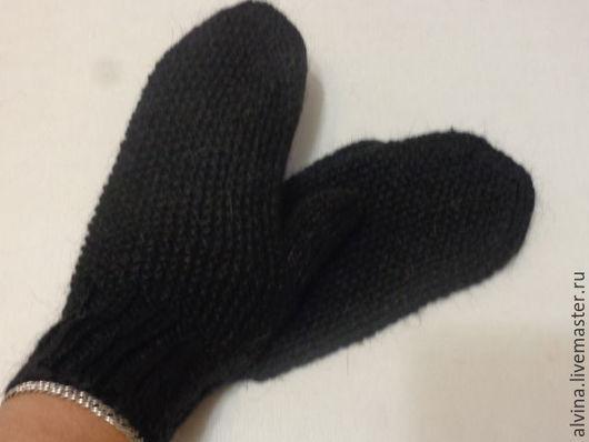 Варежки, митенки, перчатки ручной работы. Ярмарка Мастеров - ручная работа. Купить Варежки из веблюжьей шерсти. Handmade. Бежевый, рукавички