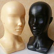 Материалы для творчества ручной работы. Ярмарка Мастеров - ручная работа Манекен Голова- два цвета. Handmade.