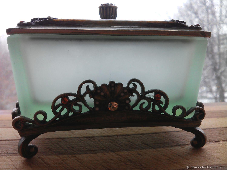 Винтаж: Старая шкатулочка, Винтажные сувениры, Железнодорожный, Фото №1