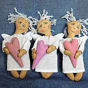 Куклы и игрушки ручной работы. Ярмарка Мастеров - ручная работа Ангелочки-Талисманы. Handmade.