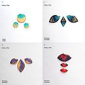Материалы для творчества handmade. Livemaster - original item A set of handmade cabochons, many options. Handmade.