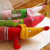 Для дома и интерьера ручной работы. Ярмарка Мастеров - ручная работа Таксы валики. Handmade.