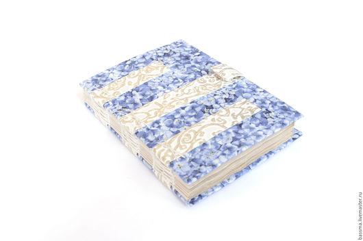Блокноты ручной работы. Ярмарка Мастеров - ручная работа. Купить Французская сирень. Блокнот А6 ручной работы. Handmade.