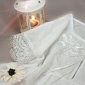 Одежда ручной работы. Ярмарка Мастеров - ручная работа Ночная сорочка с шелковой вышивкой. Handmade.