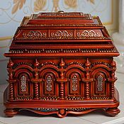 Для дома и интерьера handmade. Livemaster - original item The decorative casket. Handmade.
