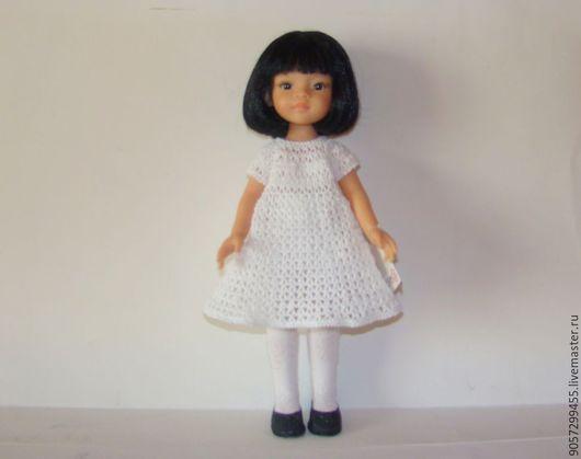 Коллекционные куклы ручной работы. Ярмарка Мастеров - ручная работа. Купить Комплект для кукол  Паола Рейна.. Handmade. Белый, трикотаж