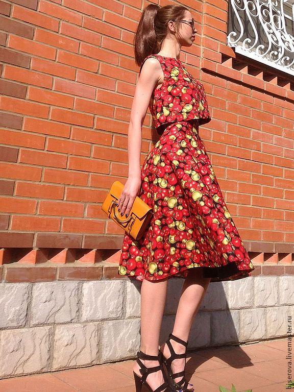 Купить летнюю юбку из хлопка