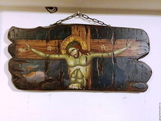 Иконы ручной работы. Ярмарка Мастеров - ручная работа. Купить Икона Иисуса Христа Пандократора ручная работа .. Handmade. икона