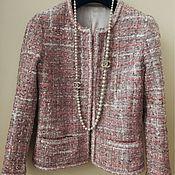 Одежда ручной работы. Ярмарка Мастеров - ручная работа Жакет в стиле Шанель. Handmade.