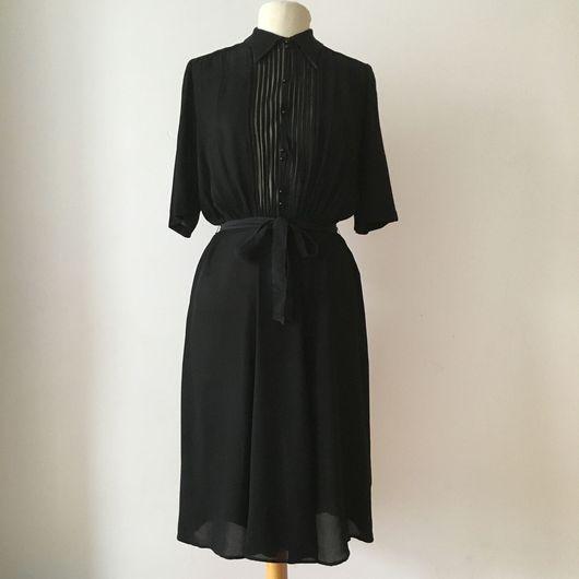Одежда. Ярмарка Мастеров - ручная работа. Купить Винтажное платье 1940'х годов. Handmade. Винтажное платье, платье 1940 годов