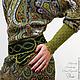 """Платья ручной работы. Платье """"Лесная нимфа"""". 'Элли' Мастерская Ольги Мирясовой (ellidesign). Ярмарка Мастеров. Платье, дизайнерская одежда"""