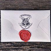 Сувениры и подарки handmade. Livemaster - original item The letter from Hogwarts personalized / Harry Potter. Handmade.