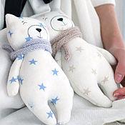 Куклы и игрушки ручной работы. Ярмарка Мастеров - ручная работа Мишки звездные. Handmade.