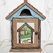 Для дома и интерьера ручной работы. Ярмарка Мастеров - ручная работа Ключница Тоскана. Handmade.