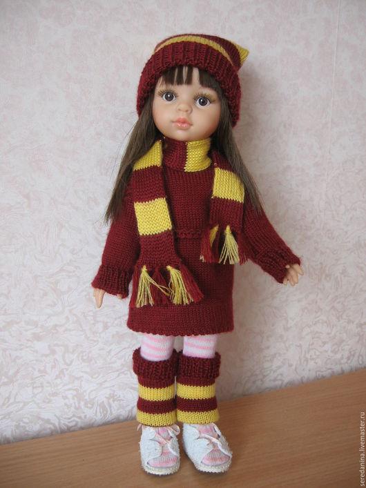 Одежда для кукол ручной работы. Ярмарка Мастеров - ручная работа. Купить Комплект одежды для кукол Паола Рейна. Handmade. Бордовый