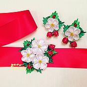 Работы для детей, handmade. Livemaster - original item Belt for dress kit rubbers