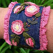 Украшения handmade. Livemaster - original item Handmade Textile bracelets. Handmade.