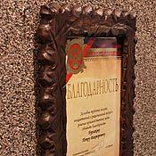 Сувениры и подарки handmade. Livemaster - original item Photo frame. Handmade.