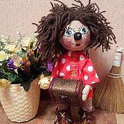 Stuffed Toys handmade. Livemaster - original item Domovenok Kuzya Grimy. Handmade.