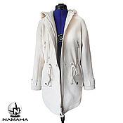 Одежда ручной работы. Ярмарка Мастеров - ручная работа Парка женская из кашемира, пальто пальто по мотивам Emilio Pucci. Handmade.