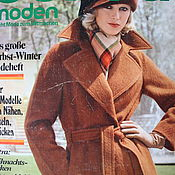 Выкройки для шитья ручной работы. Ярмарка Мастеров - ручная работа Burda moden 10/1974 Бурда Моден. Handmade.