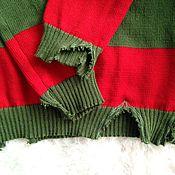 """Одежда ручной работы. Ярмарка Мастеров - ручная работа свитер вязаный унисекс """"ФРЕДДИ КРЮГЕР"""". Handmade."""