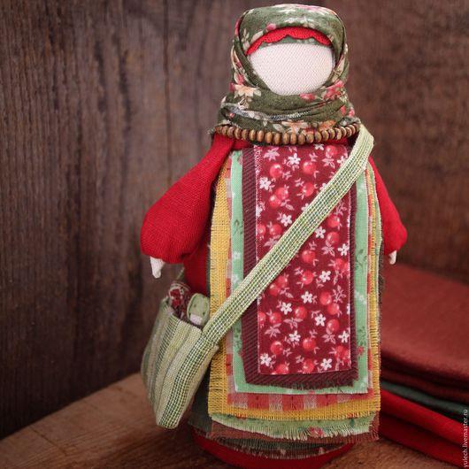 """Народные куклы ручной работы. Ярмарка Мастеров - ручная работа. Купить Куколка-успешница народная русская """"Нарядная"""". Handmade. Комбинированный"""