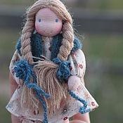 Вальдорфские куклы и звери ручной работы. Ярмарка Мастеров - ручная работа Вальдорфская каркасная кукла Лада 12 см. Handmade.