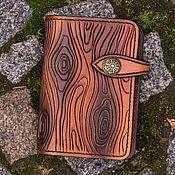 Канцелярские товары ручной работы. Ярмарка Мастеров - ручная работа Блокнот Timber. Handmade.