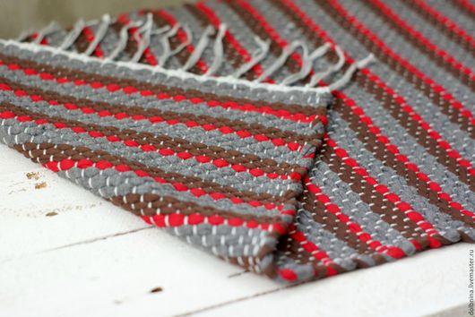 Текстиль, ковры ручной работы. Ярмарка Мастеров - ручная работа. Купить Домотканый половик, дорожка, коврик 003. Handmade.