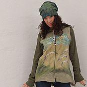 Одежда handmade. Livemaster - original item Jacket (jacket) felt