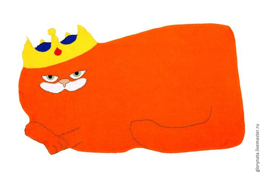 """Текстиль, ковры ручной работы. Ярмарка Мастеров - ручная работа. Купить Махровое полотенце """" Ну просто Царь! """". Handmade."""