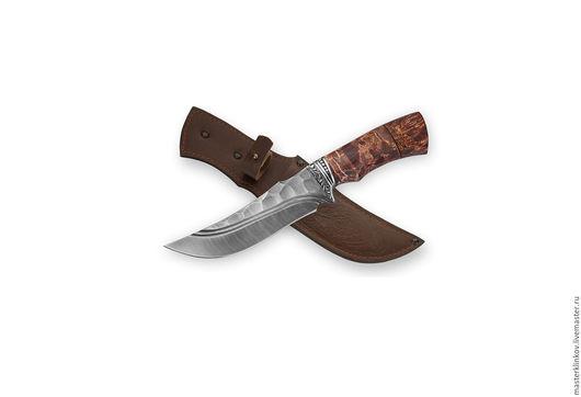 """Оружие ручной работы. Ярмарка Мастеров - ручная работа. Купить Кованый нож ручной работы """"Восток"""" из дамасской стали. Handmade."""