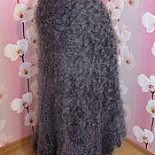 Аксессуары handmade. Livemaster - original item Shawls: Shawl down shawl plaid goat down 140*140 cm. Handmade.