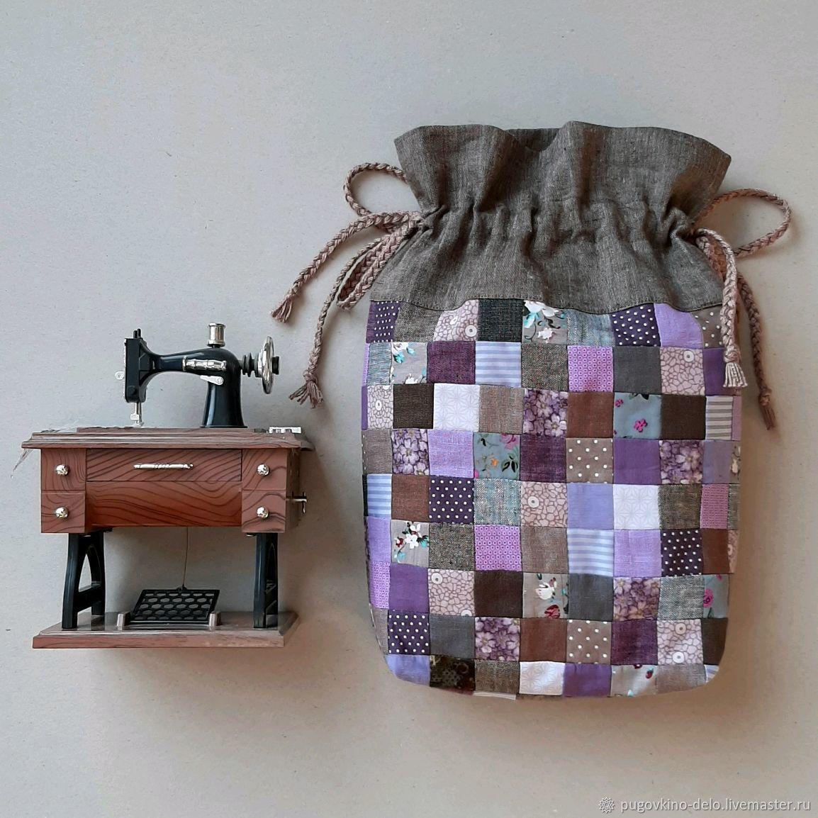 Лоскутный мешочек для подарка, Мешочки для подарков, Кемерово,  Фото №1