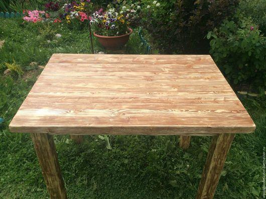 Мебель ручной работы. Ярмарка Мастеров - ручная работа. Купить Стол обеденный состаренный. Handmade. Дерево, кухонный стол, Мебель