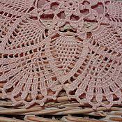 Для дома и интерьера ручной работы. Ярмарка Мастеров - ручная работа Розовая салфетка.. Handmade.