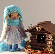 Куклы и игрушки ручной работы. Ярмарка Мастеров - ручная работа Зайка игрушка. Handmade.