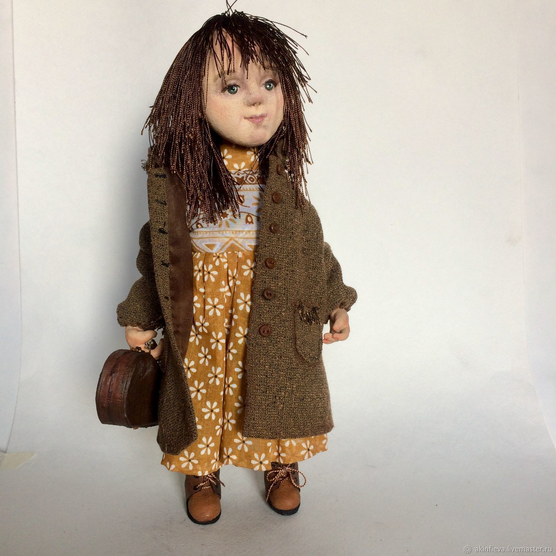 Collectible Dolls Handmade Livemaster Handmade Buy Interior Doll Faye Reagan  Cm