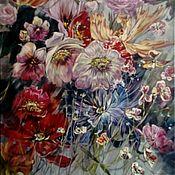 Картины и панно ручной работы. Ярмарка Мастеров - ручная работа Живопись с изображением цветов.. Handmade.