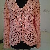 Одежда handmade. Livemaster - original item Jacket crochet Aurora. Handmade.