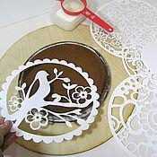 Для дома и интерьера ручной работы. Ярмарка Мастеров - ручная работа Трафареты для торта. Handmade.
