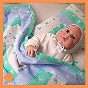 Комплекты одежды ручной работы. Ярмарка Мастеров - ручная работа Детское одеяло для новорожденных Звёздочка. Handmade.