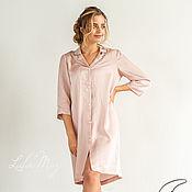 Combination handmade. Livemaster - original item Nightgown