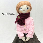"""Куклы и игрушки ручной работы. Ярмарка Мастеров - ручная работа Текстильная кукла """"Paulina"""". Handmade."""