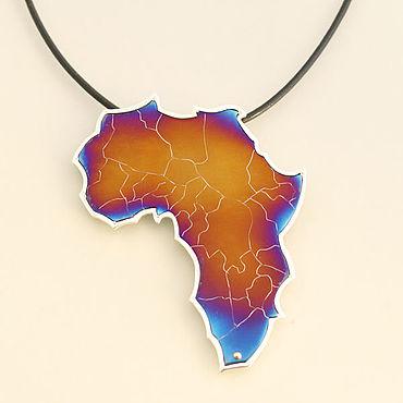 Украшения ручной работы. Ярмарка Мастеров - ручная работа Колье: Африка. Handmade.
