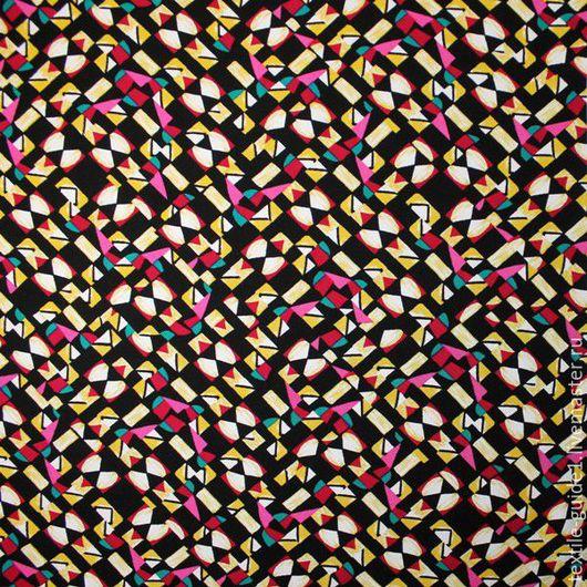 Шитье ручной работы. Ярмарка Мастеров - ручная работа. Купить Ткань плательная вискоза Германия 9034617. Handmade. Комбинированный
